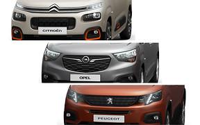 «Каблучки» Peugeot, Citroen и Opel получат фирменный дизайн