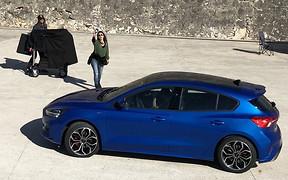 Попался! Новый Ford Focus сфотографировали без камуфляжа