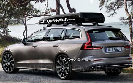 Фото нового Volvo V60 появились в Сети раньше срока