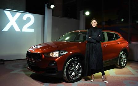 Рискни быть другим. BMW X2 - официальный автомобиль недели моды прет-а-порте Ukrainian Fashion Week