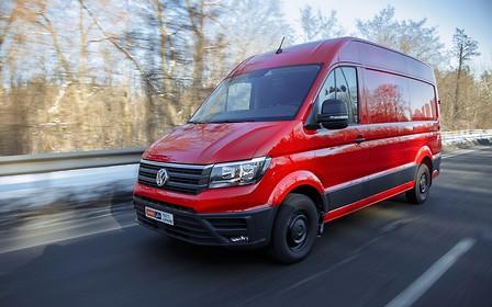 Тест-драйв VW Crafter: Фургон легкого поведения