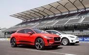 Видео: Электрический кроссовер Jaguar i-Pace против Tesla Model X