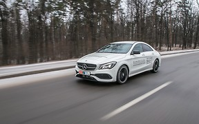 Тест-драйв Mercedes-Benz CLA: Против ветра
