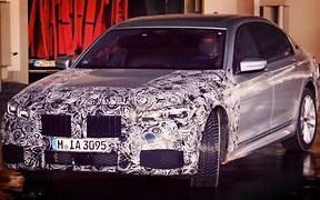 В Сети появились свежие фото рестайлингового BMW 7 Series