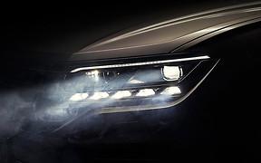 Эти глаза: Volkswagen показал оптику нового Touareg
