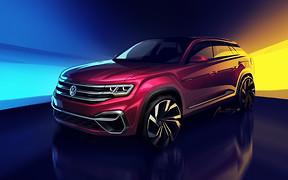 Volkswagen готов представить новый пятиместный кроссовер