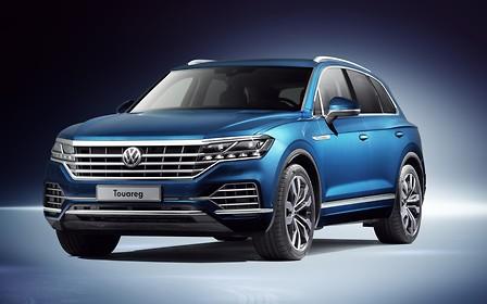 Новый VW Touareg представлен в Китае