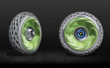 Goodyear представил прототипы «зеленых» шин