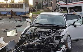 Авария маршрутки, легковушки и автобуса унесла жизни 8 человек