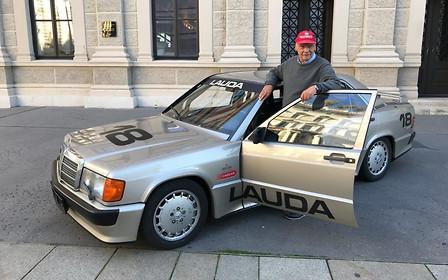 34-летний 190-й Mercedes Ники Лауды стоит дороже нового AMG G 63