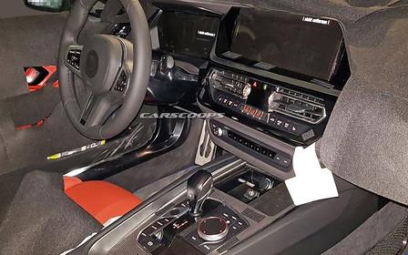 Новый BMW Z4: что внутри?