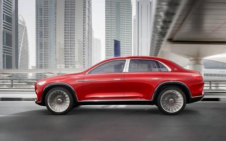 Немножко седан: в Сети рассекретили кроссовер Mercedes-Maybach