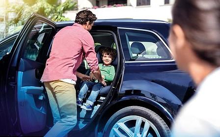 Детское автокресло с подушкой безопасности прошло краш-тест