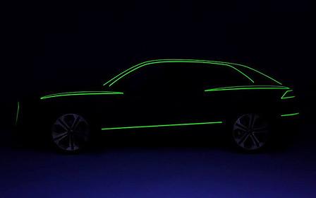 Первое фото: серийный кроссовер Audi Q8