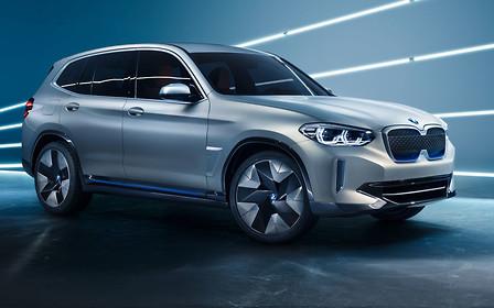 BMW показала прототип электрокроссовер iX3