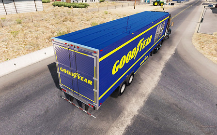 Goodyear представил шины для грузовиков с большими пробегами