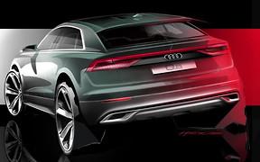 Видео: новый Audi Q8 представят 5 июня