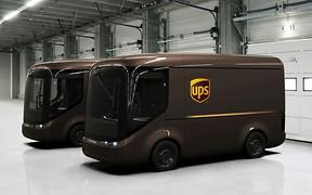UPS переходит на электромобили