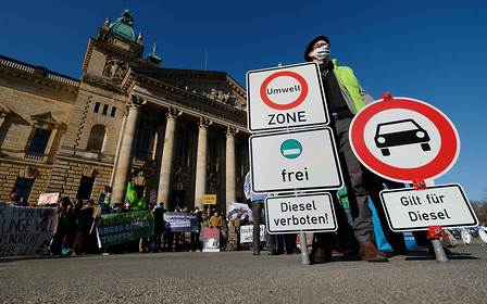 Шутки в сторону: в немецких городах стартуют запреты на въезд дизельных авто