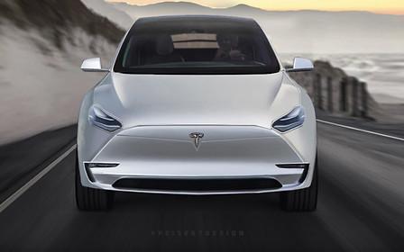 Компактный электрокроссовер Tesla Model Y покажут 15 марта
