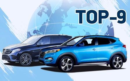 Топ-9 самых популярных авто 2018 года в мире