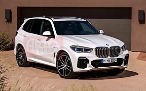 В Сети полностью рассекретили дизайн нового BMW X5