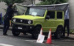 Юнген Гелендваген: новый Suzuki Jimny рассекречен