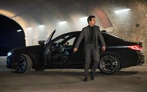 Видео: BMW M5 снялся в новом блокбастере с Томом Крузом