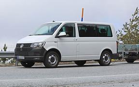Volkswagen приступил к тестам нового Transporter T7