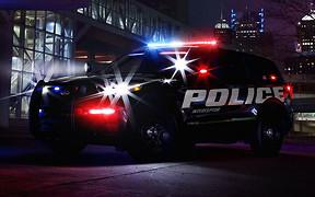 Следующий Ford Explorer показали в виде полицейского автомобиля