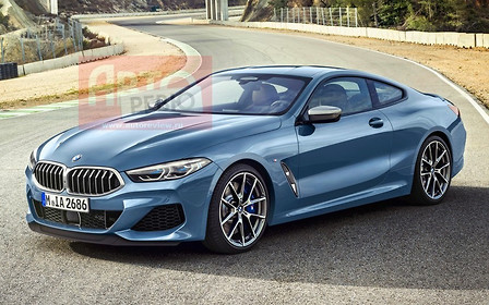 Новую BMW 8 серии рассекретили раньше премьеры
