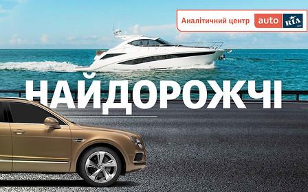 На земле и на воде: самый дорогой транспорт на AUTO.RIA