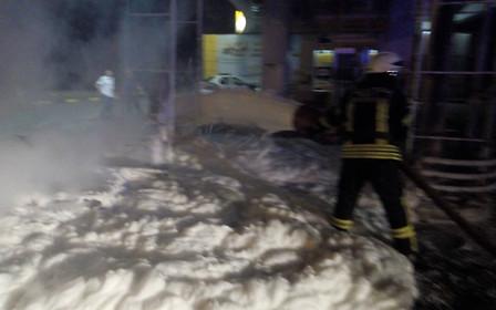 Видео: Под Киевом сгорела АЗС «БРСМ-Нафта»