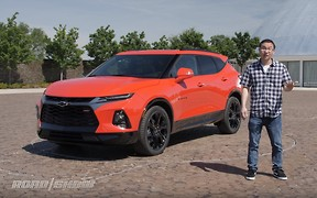 Новый Chevrolet Blazer RS показали на видео