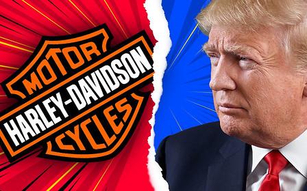 Только посмейте! Трамп разозлился на Harley-Davidson