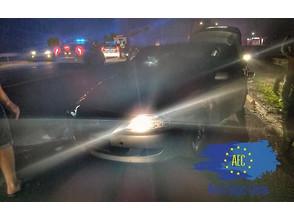 15 машин патрульной полиции устроили погоню за пьяным водителем