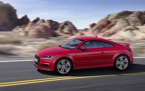 Audi TT встретил 20-летний юбилей в обновленном виде