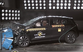 Краш-тест: новый Ford Focus разбили на пятерку
