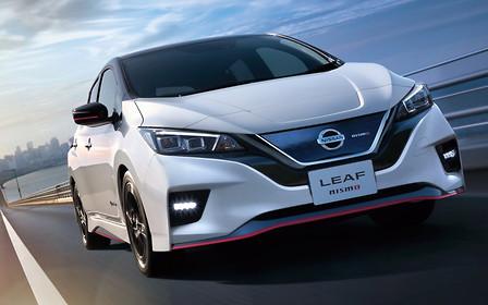 Теперь «заряженный»: электрокар Nissan Leaf получил версию Nismo