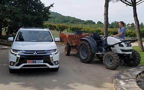 Тест-драйв Mitsubishi Outlander PHEV: Мечи — на орала