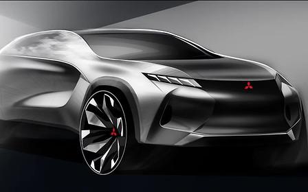 Новый кроссовер Mitsubishi Mirage могут сделать из «Джука»