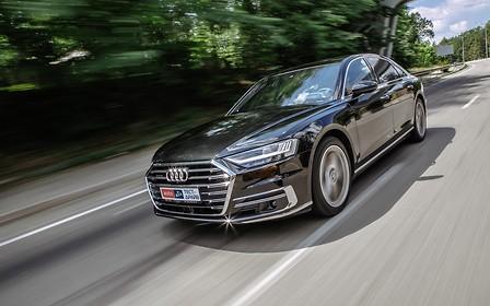 Тест-драйв Audi A8 Long: Ума не занимать