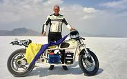 Українець Сергій Малик встановив нового рекорда швидкості на солончаках Бонневіля