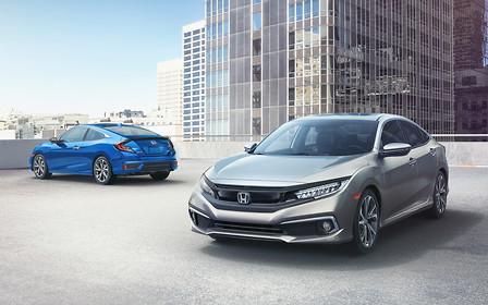 Американская родня: Honda Civic в кузове седан и купе обновились