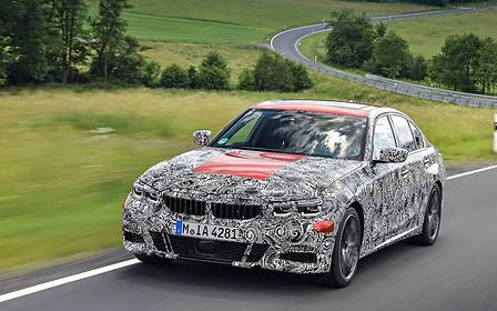Видео: в BMW частично рассекретили новую «тройку»