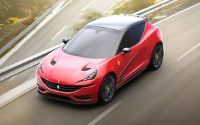 Кроссовер Ferrari: первые идеи