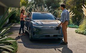 Электрокроссовер Hyundai Kona Electric подтвердил пробег 415 км на одной зарядке