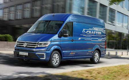 Электрический VW Crafter представят в следующем месяце