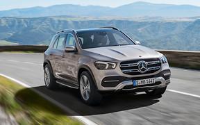 Новый Mercedes-Benz GLE: первые фото и видео