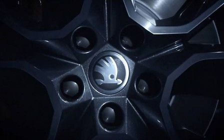 «Заряженный» кроссовер Kodiaq RS показали на коротком видео